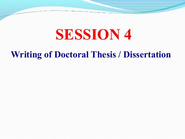 Doctoral dissertation reading committee