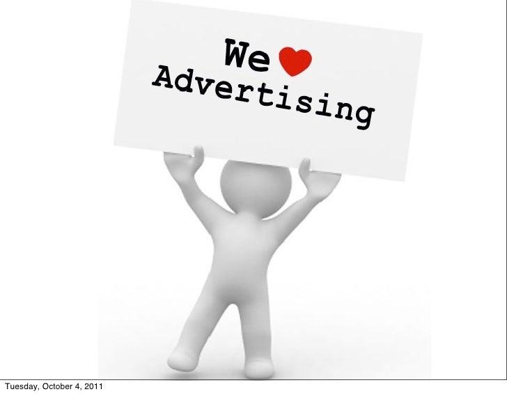 Online AdvertisingTuesday, October 4, 2011