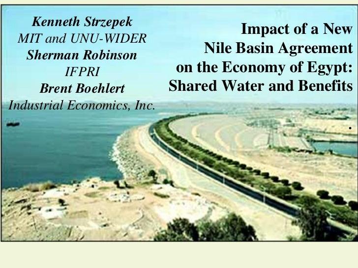 Kenneth Strzepek                                      Impact of a New  MIT and UNU-WIDER   Sherman Robinson             Ni...