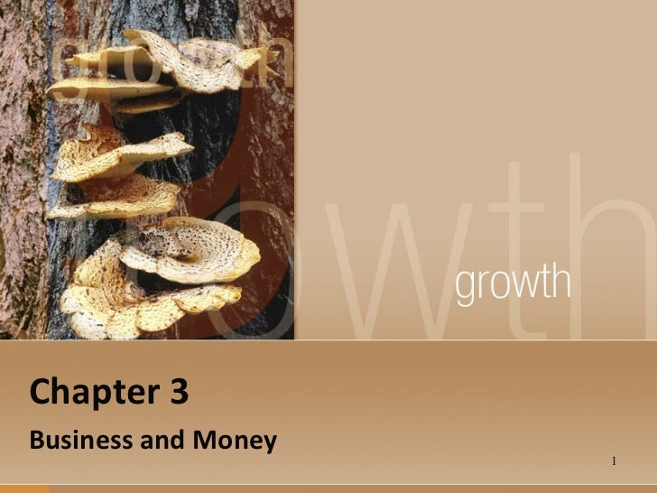 Chapter 3 Business and Money