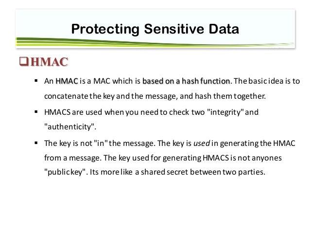 Session6-Protecct Sensetive Data