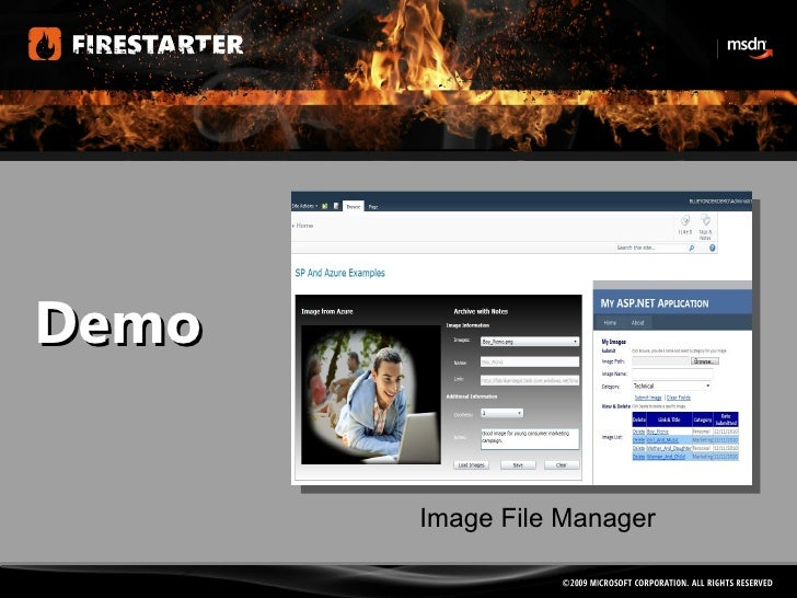 Demo Image File Manager