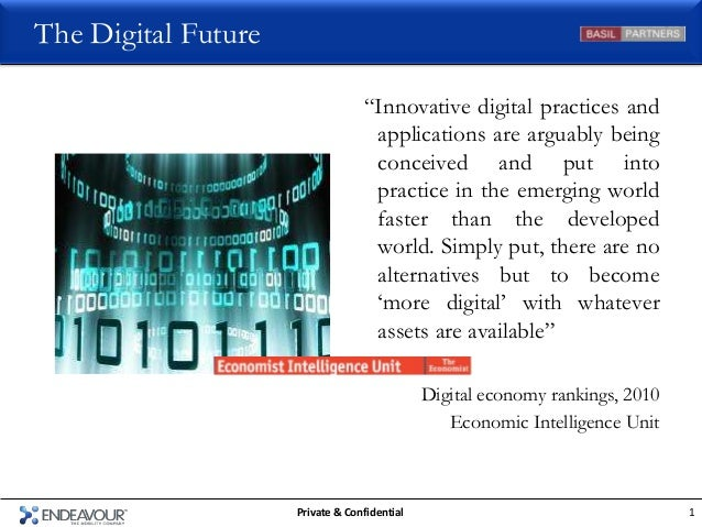 """The Digital Future                                  """"Innovative digital practices and                                   ap..."""