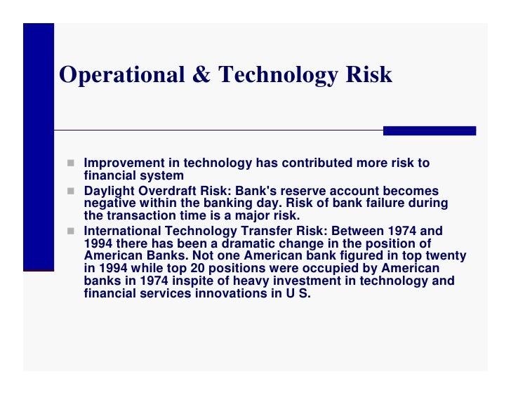 major risks for international banks Authoritative analysis on international banking, finance and world major risks awaiting global forex markets in international banker on february 5.