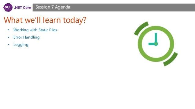 NET Core, ASP NET Core Course, Session 7
