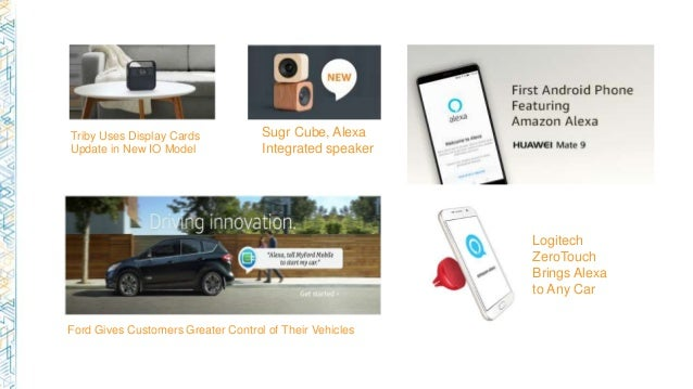 Building voice enabled Apps with Alexa voice service and
