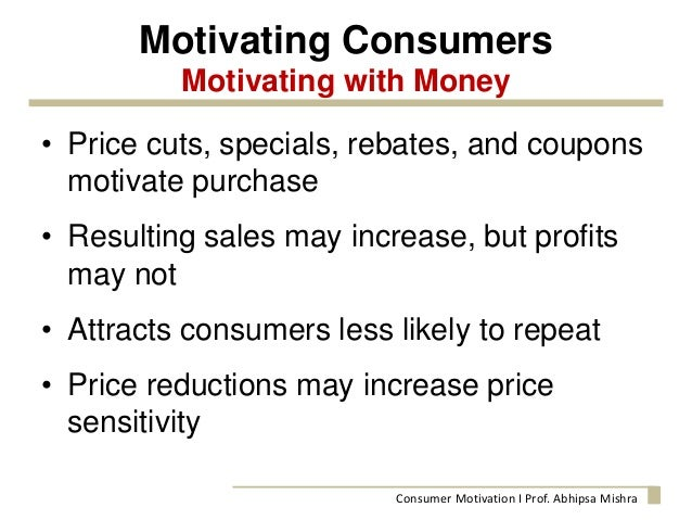 consumer motivation and the implication on Understanding hope and its implications for consumer behavior: i hope,  therefore i consume deborah j macinnis cornell university hae eun chun.