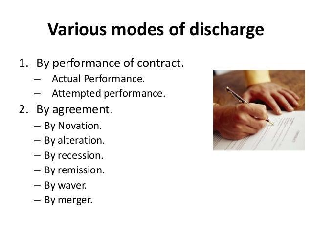 Discharge for joy