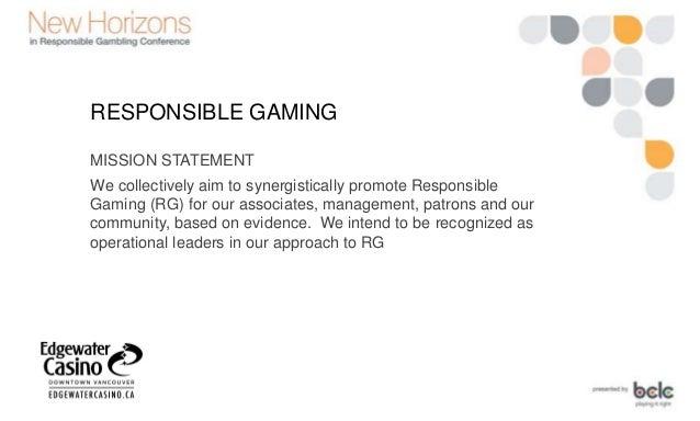 Gambling mission statements antigua online gambling dispute