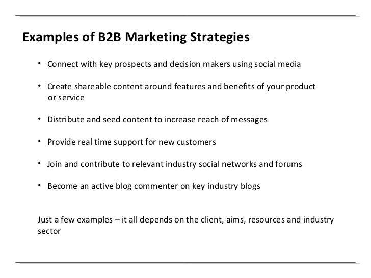 B2B vs B2C Marketing using Social Media
