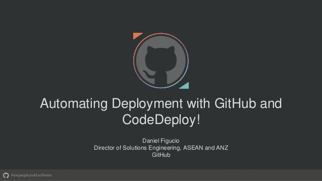 Automating Deployment with Github and CodeDeploy