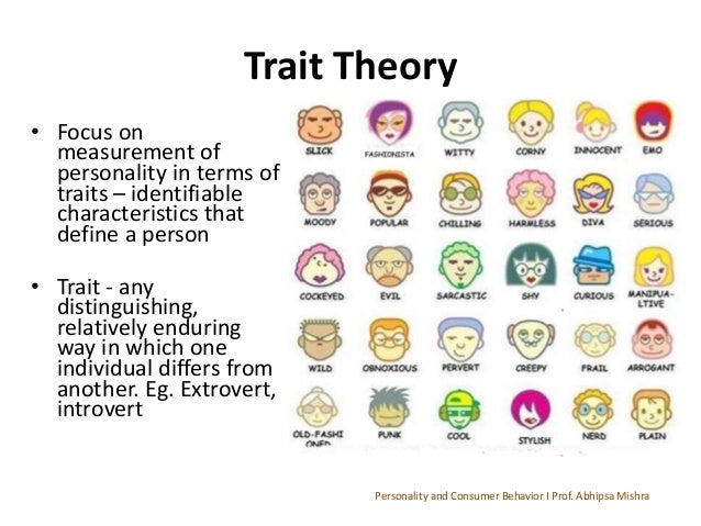 dating and personality traits