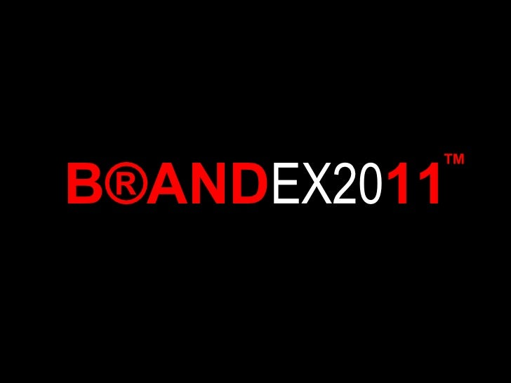 B ® AND EX20 11 ™