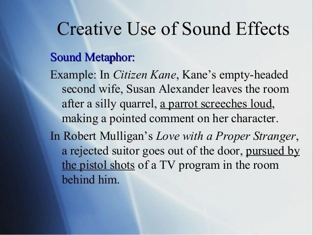 metaphor for loud noise