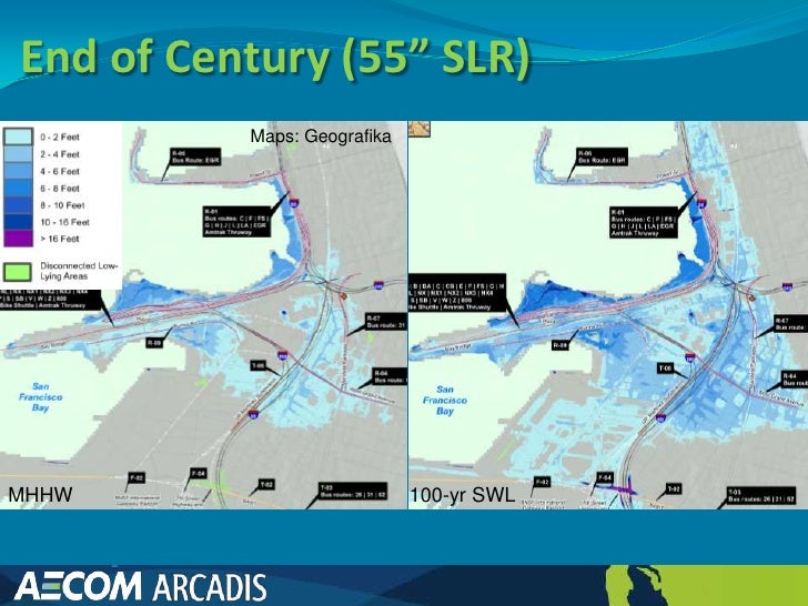 Sea Level Rise Inundation Mapping for the ART Project