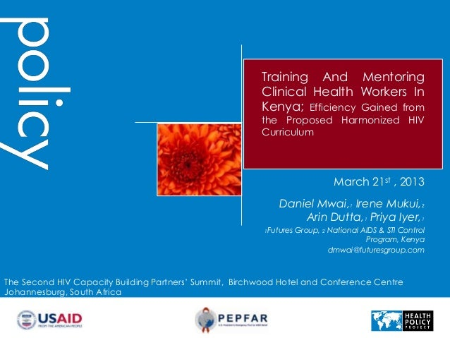 Training And Mentoring                                                        Clinical Health Workers In                  ...