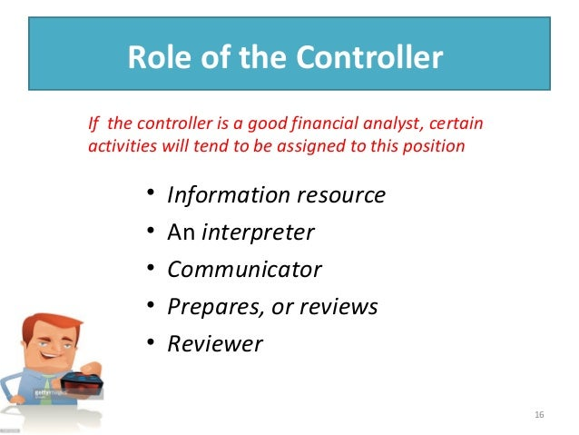 Internal Audit Function Ans Controller S Role In Investors