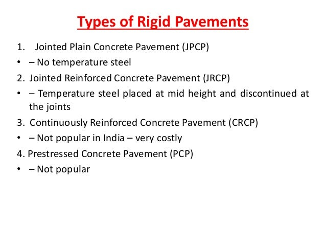 Joint types and behavior. Rigid pavement design course jointing.