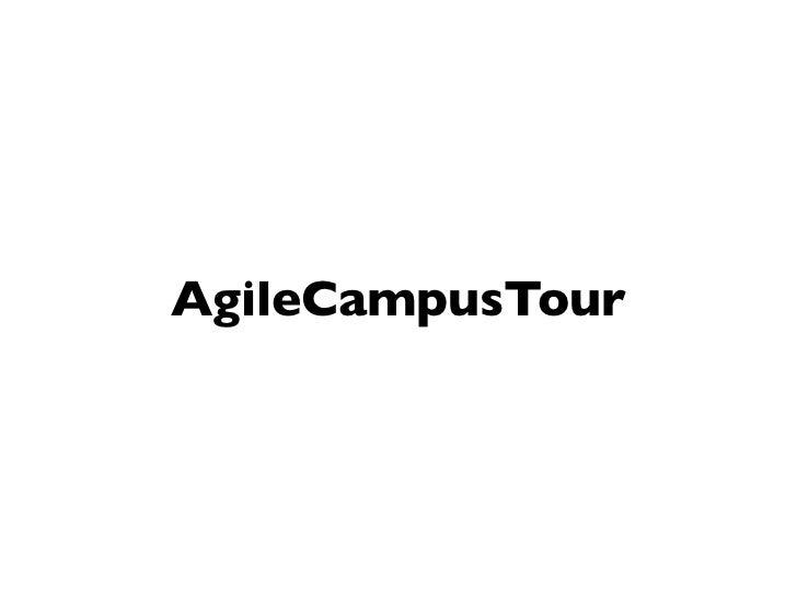 AgileCampusTour