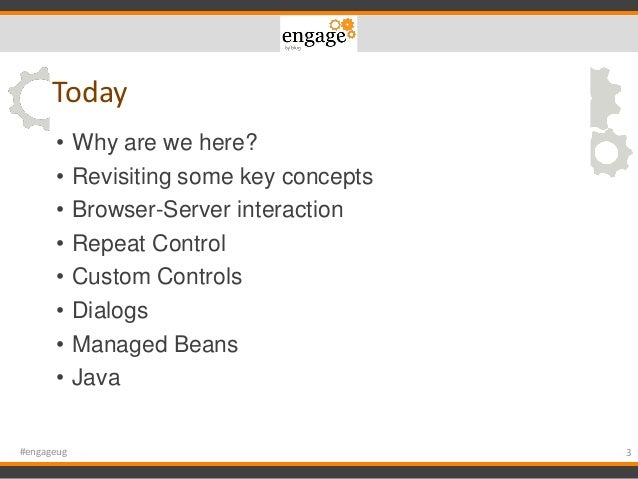 Engage 2015 - 10 Mistakes You and Every XPages Developer Make. Yes, I said YOU! Slide 3