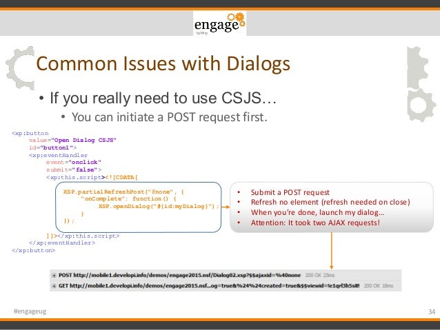 Engage 2015 - 10 Mistakes You and Every XPages Developer