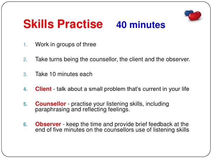 Level Ii Counselling Skills Session Six