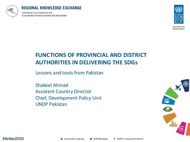 Functions of Provincial and District Authorities in