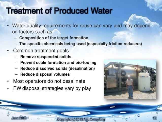 Produced Water Session Xi Alleman