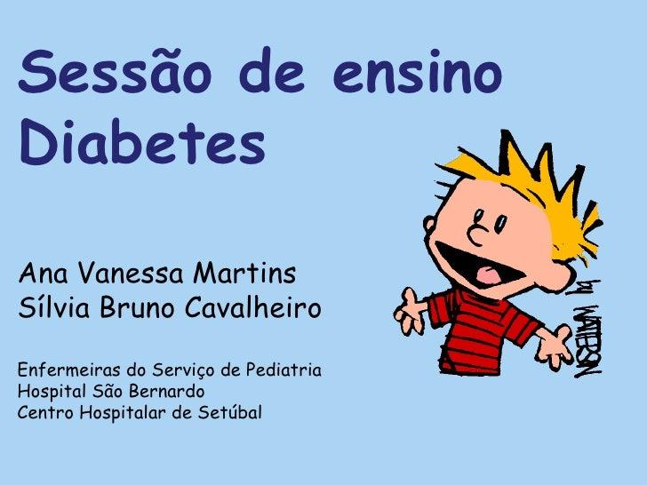Sessão de Ensino - Diabetes
