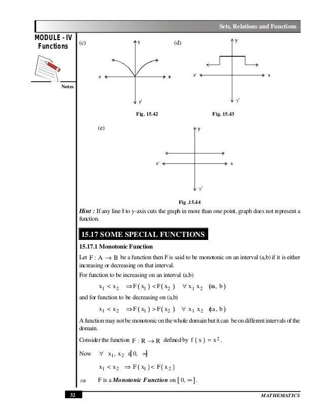 Set Relations and Functions – Relations and Functions Worksheet