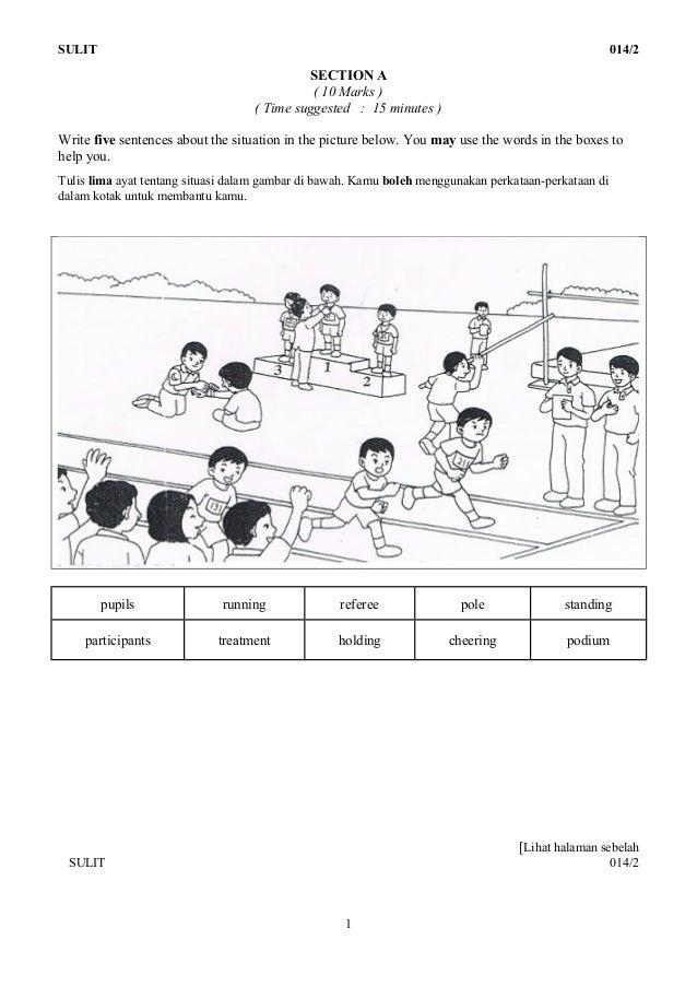 Set 1 kertas 2(English UPSR)