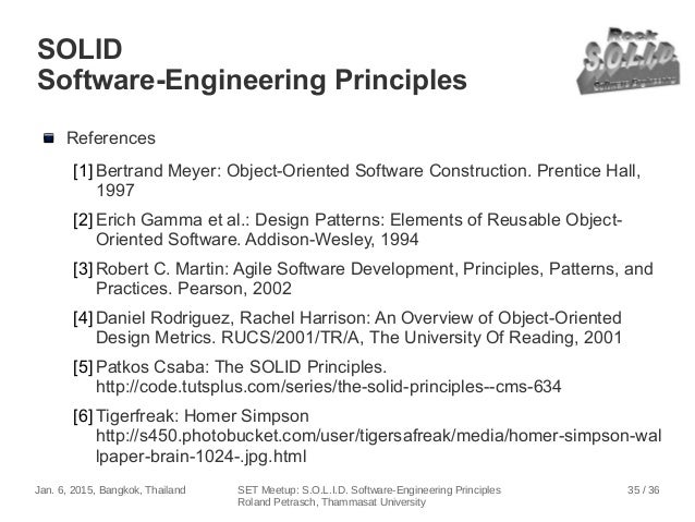 software engineering principles The software engineering curriculum offers emphasis areas in software engineering principles,  introduction to principles of programming, software design,.