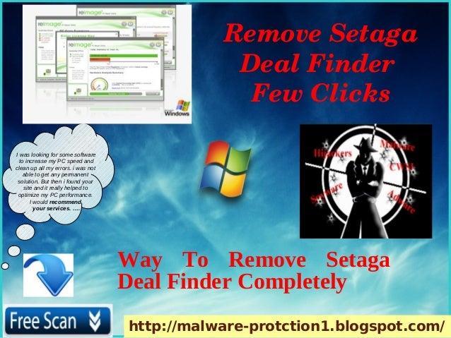 RemoveSetaga                                                DealFinder                                                ...