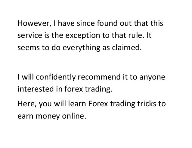 Does anybody make money trading forex