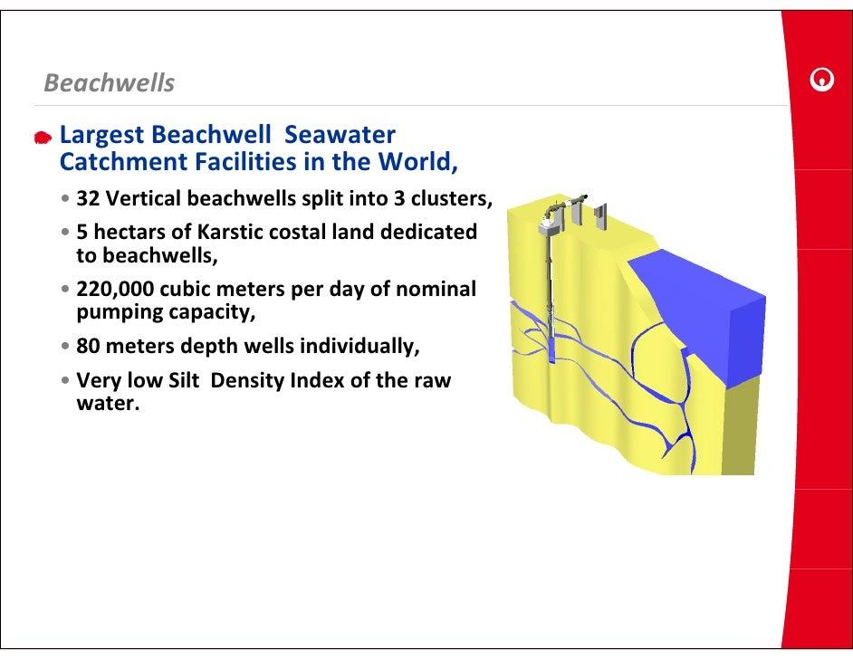Beachwells  LargestBeachwellSeawater  CatchmentFacilitiesintheWorld,  Catchment Facilities in the World,  • 32Ver...