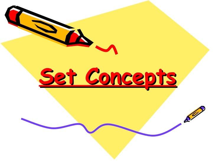 Set Concepts