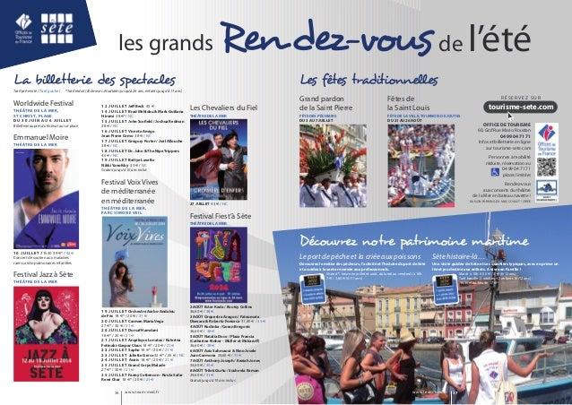 de l'étéRendez-vousles grands www.team-med.fr 37www.team-med.fr36 Grand pardon de la Saint Pierre FÊTE DES PÊCHEURS DU 3 A...