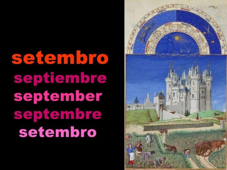 setembro septiembre september   septembre   setembro