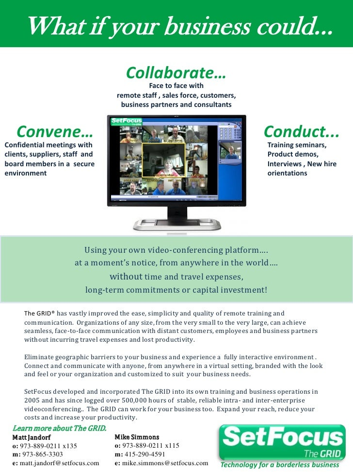 What if your business could...                                       Collaborate…                                         ...