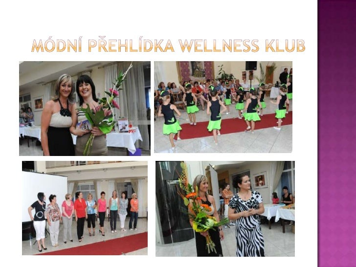 Módní přehlídka wellness Klub<br />
