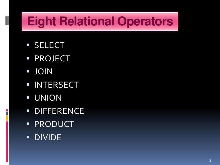 Set  operators Slide 3