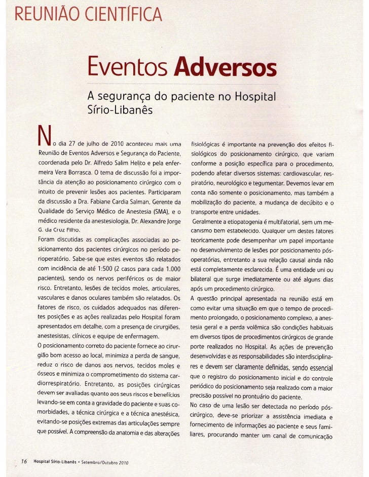 Revista dos Médicos - Hospital Sírio-Libanês - Setembro/Outubro 2010