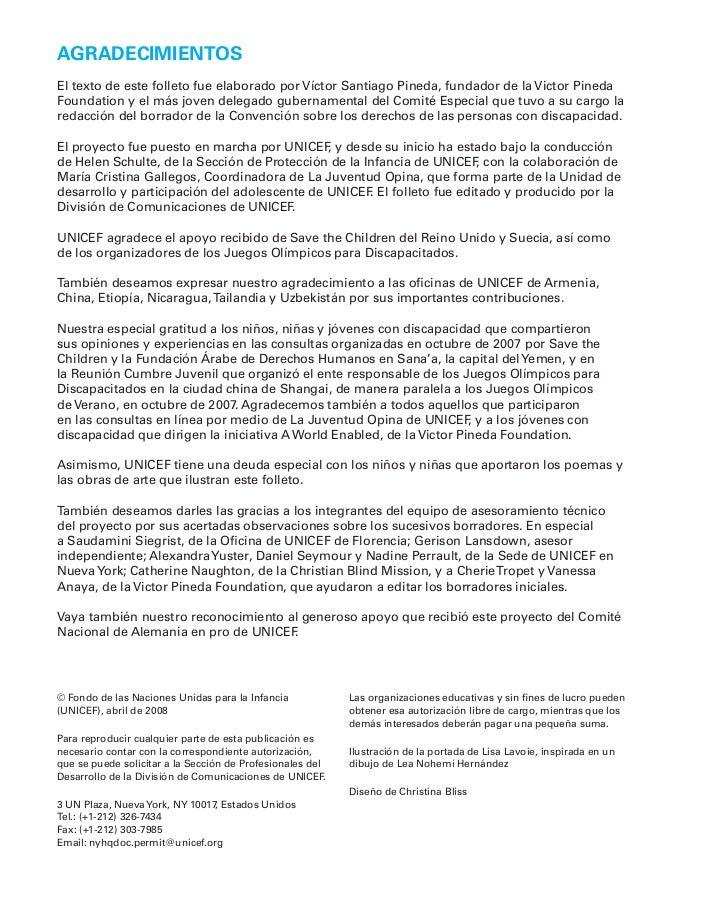AGRADECIMIENTOSEl texto de este folleto fue elaborado por Víctor Santiago Pineda, fundador de la Victor PinedaFoundation y...