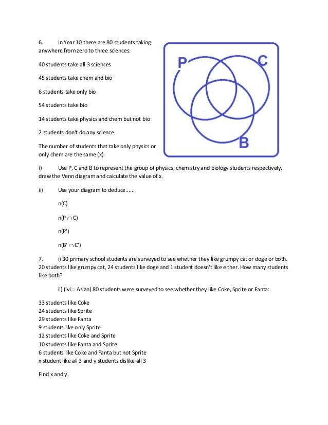 Sets and venn diagram 3 ccuart Gallery