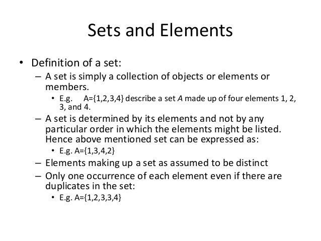 set theory pdf