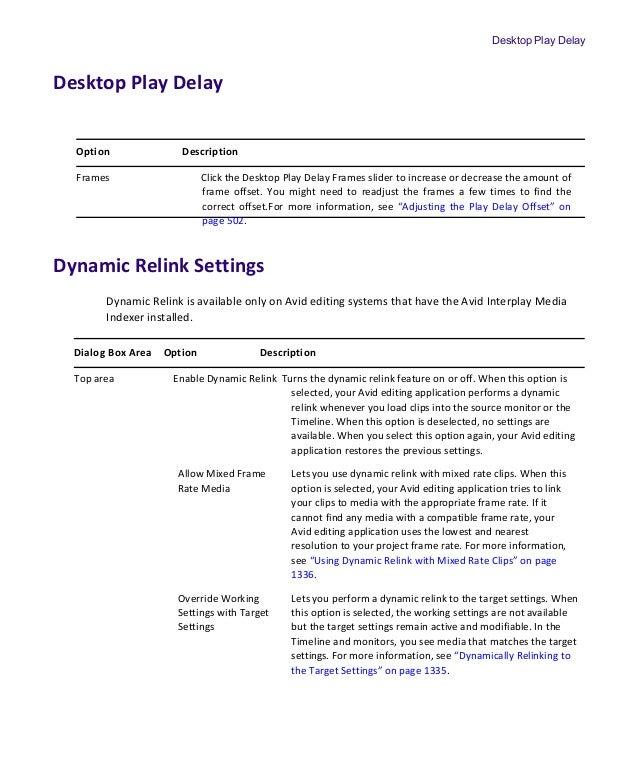 Setting Avid Media Composer 8 4