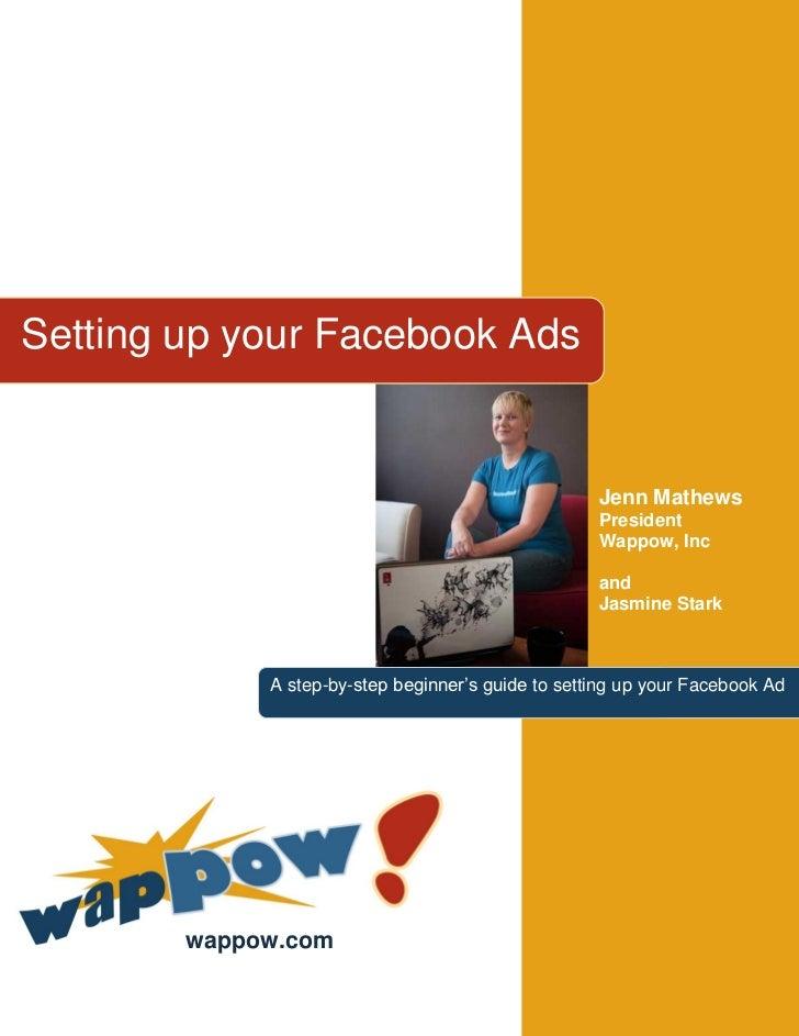 Setting up your Facebook Ads                                                    Jenn Mathews                              ...