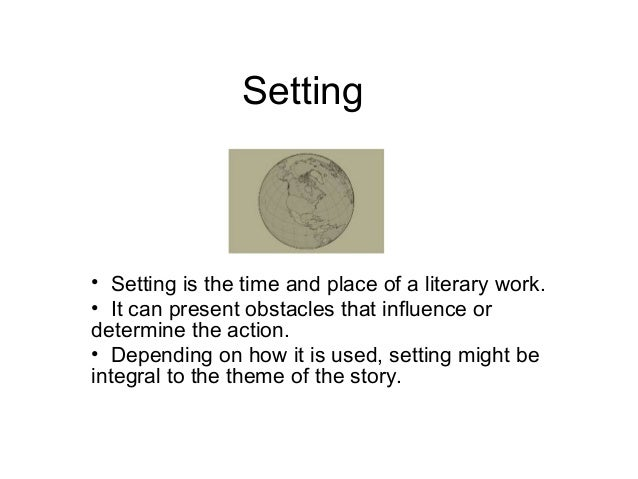 types of setting in literature