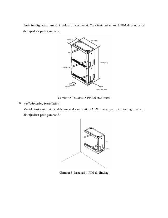 setting 2 unit pabx kx tes824