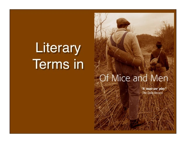 Literary Terms in